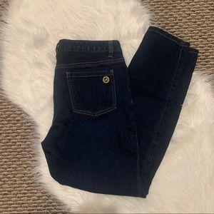 Michael Michael Kors Straight Jeans Dark Denim 8